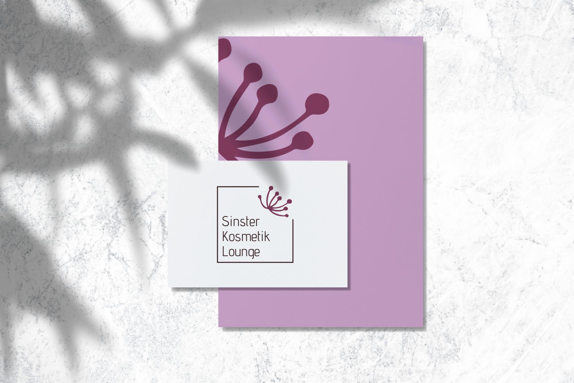 Logodesign Für Sinster Kosmetik Lounge Studio Fein